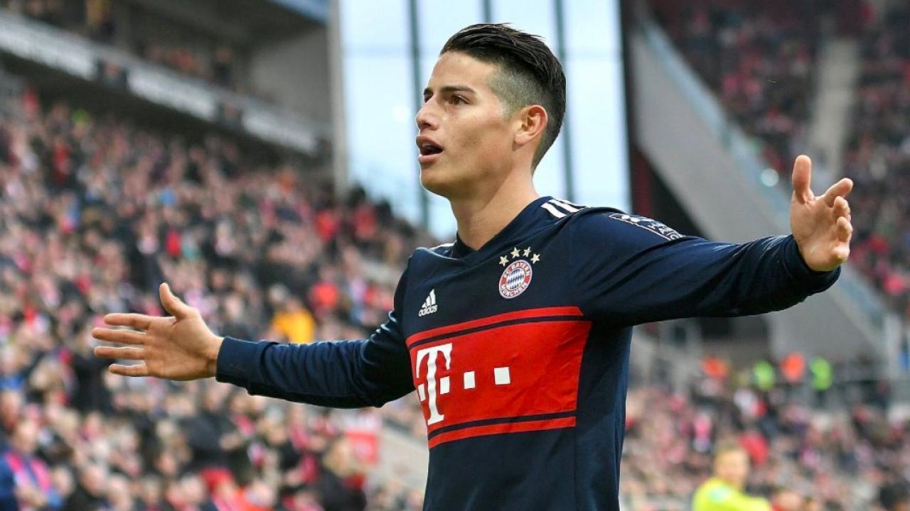 James Rodriguez Bayern Munich Stats Improve With Recent Form