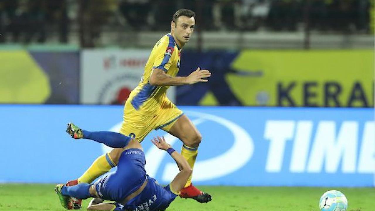 Dimitar Berbatov Kerala Blasters goal
