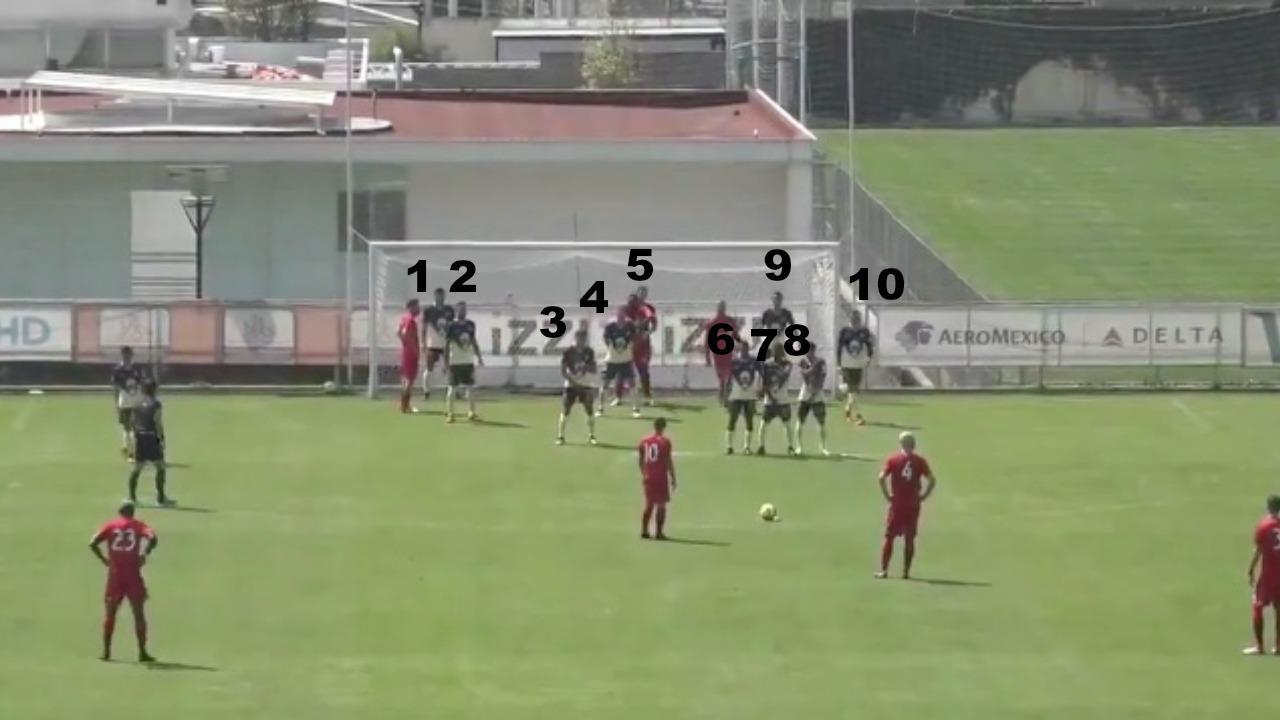 Sebastian Giovinco free kick vs Club America