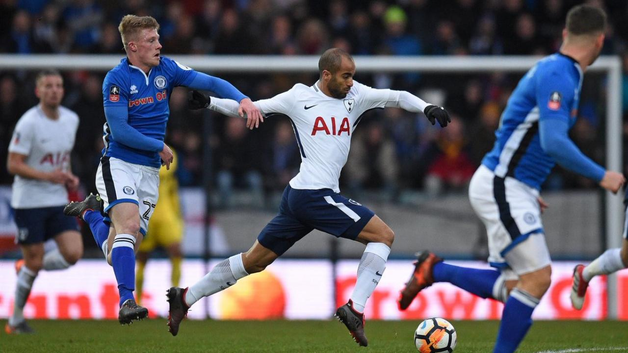 Lucas Moura Tottenham debut