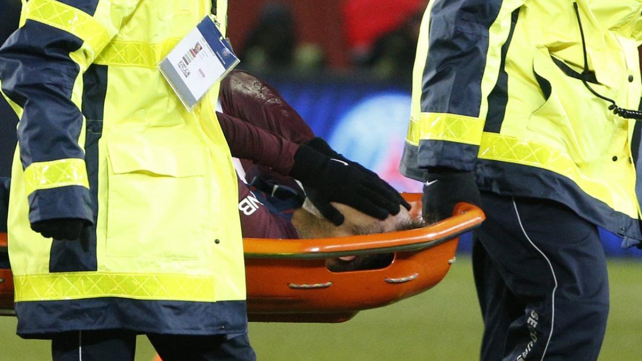 Neymar ankle injury return date