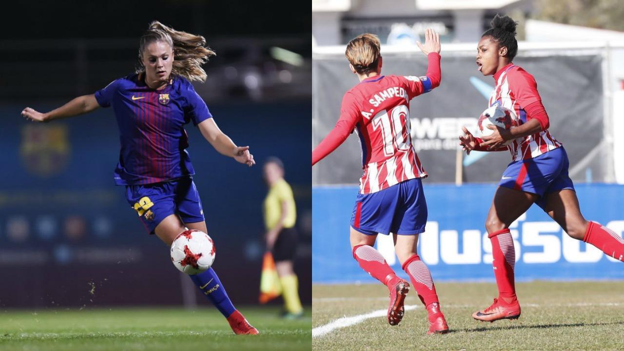 Barcelona Femenino vs Atletico Madrid