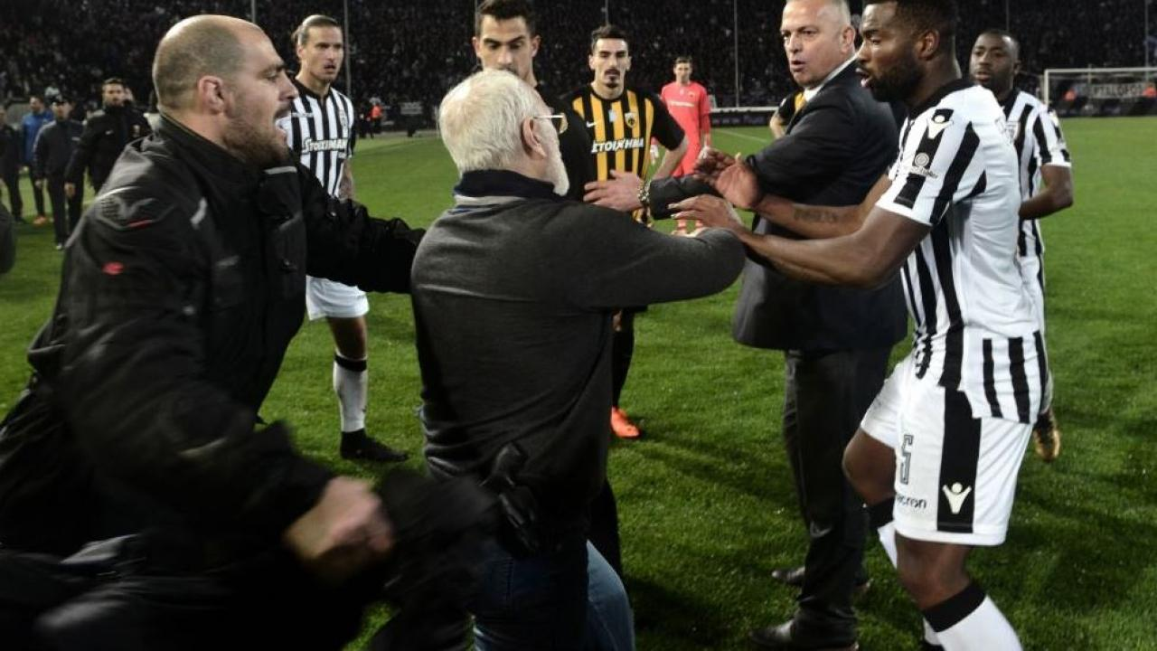 Greek Superleague suspended