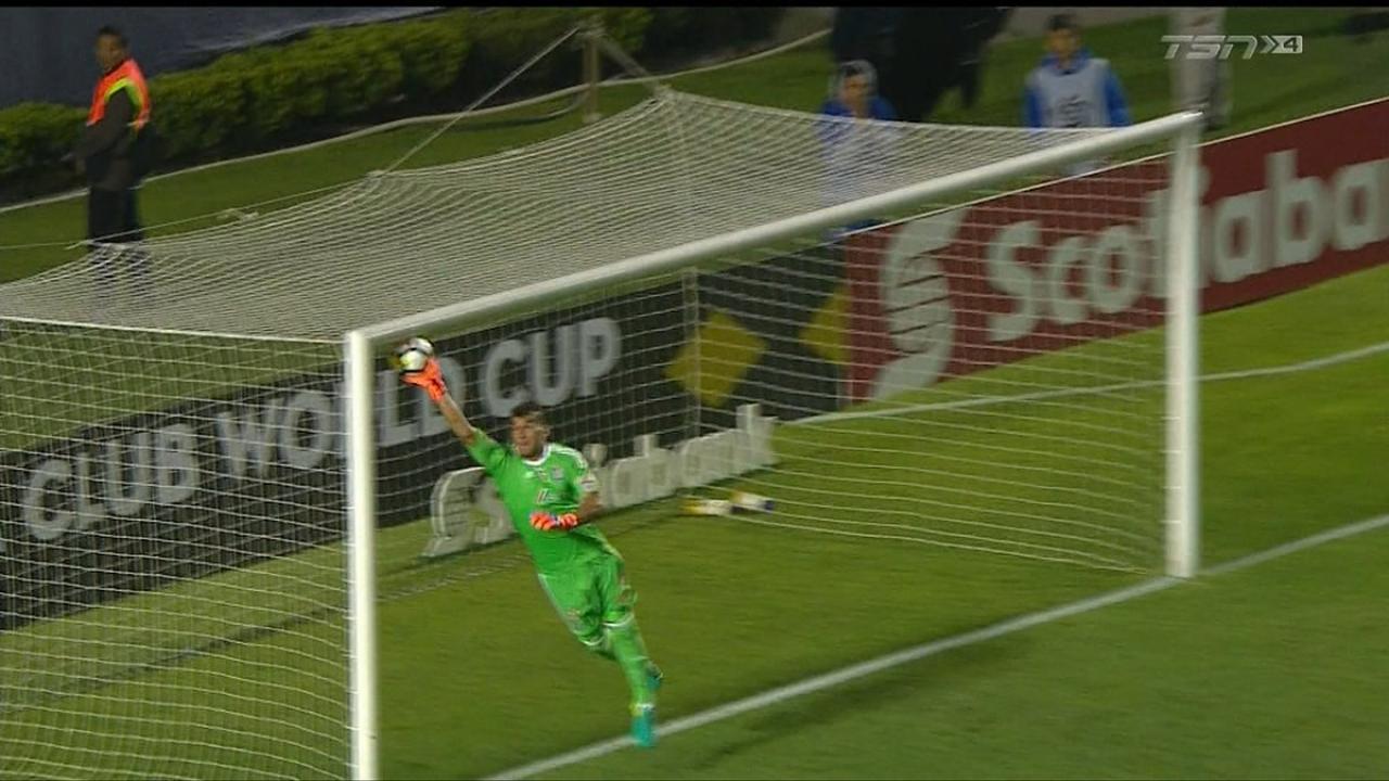 Tigres goalkeeper