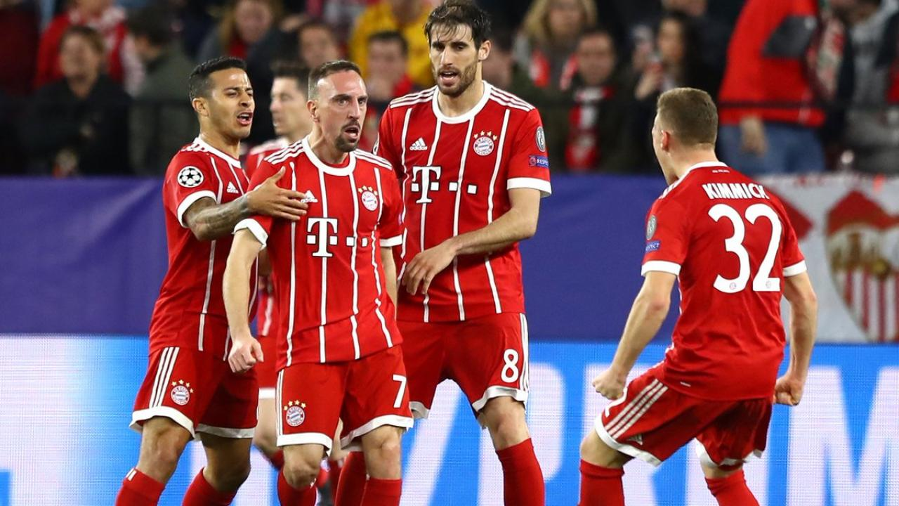 Franck Ribery performance against Sevilla