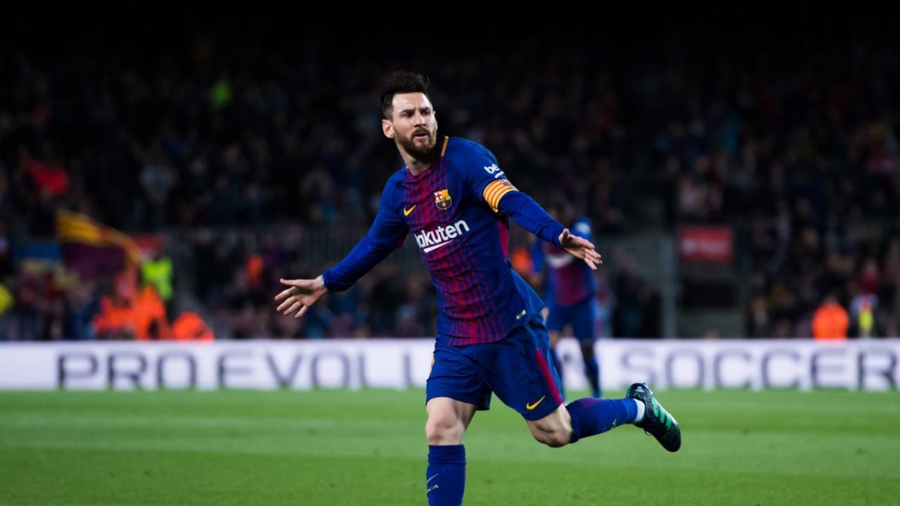 Lionel Messi Hat Trick