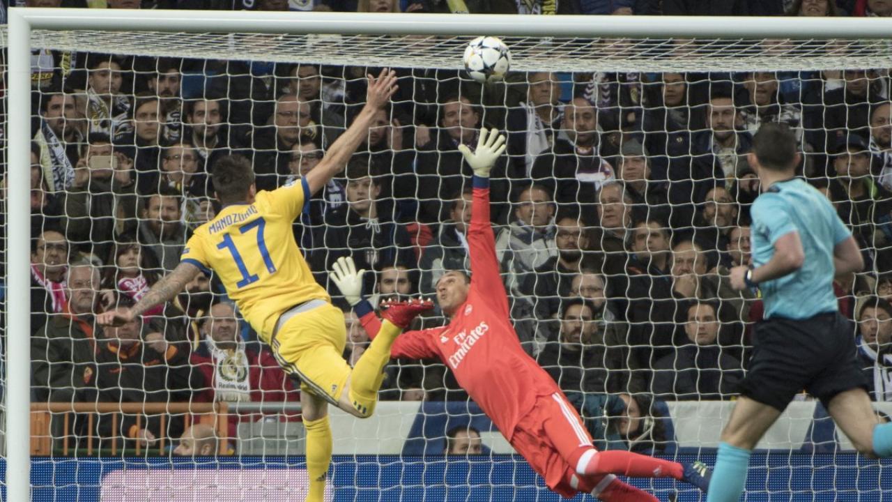 Mandzukic goals against Real Madrid