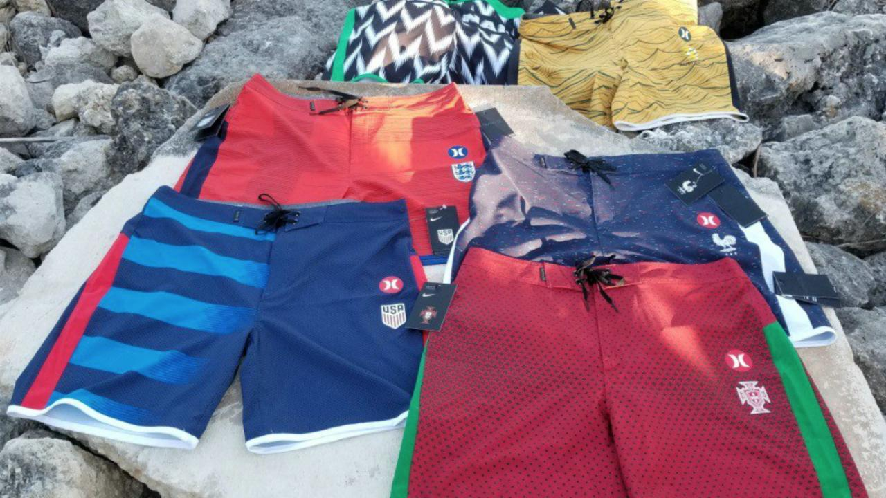Hurley Drops World Cup Board Shorts Collection