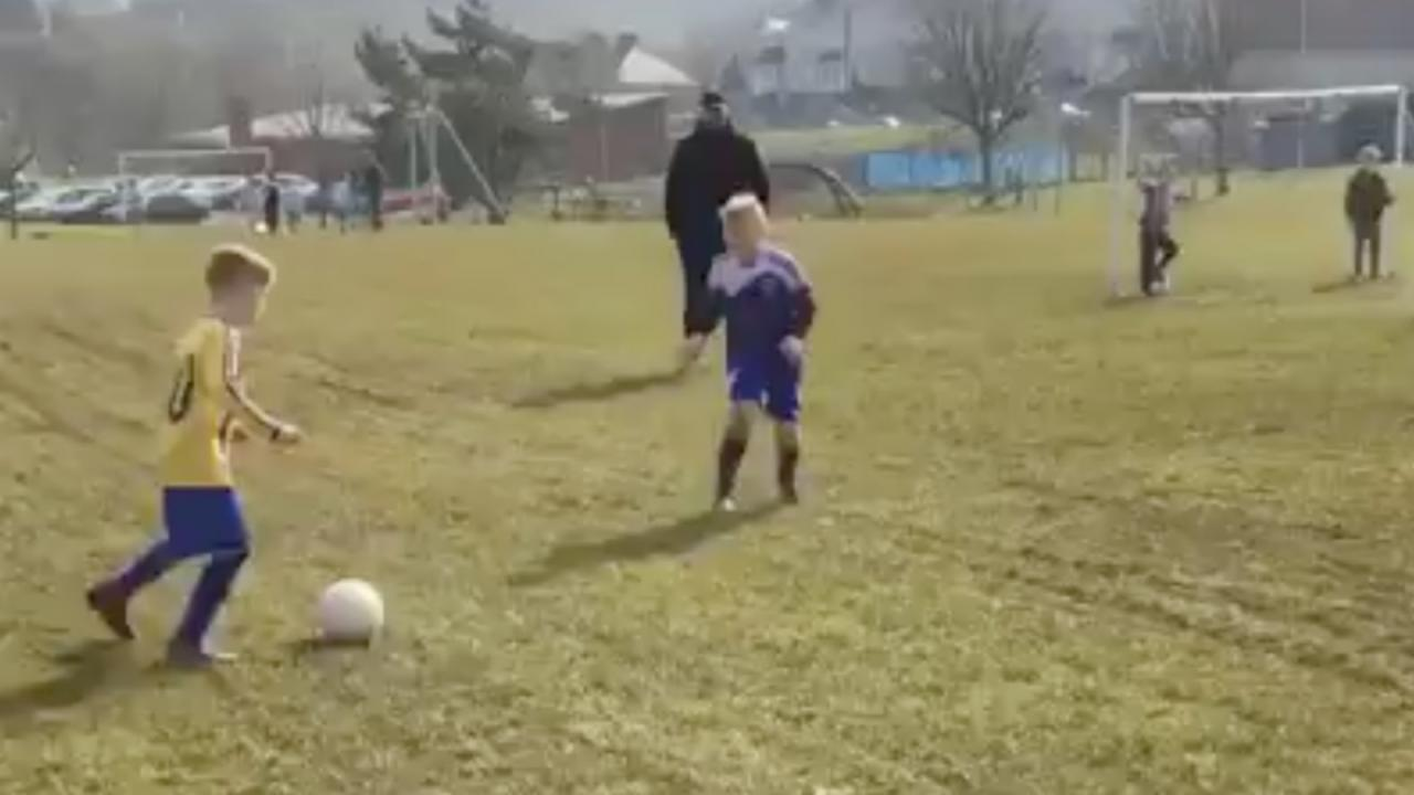 Young Lad Scores Wonder Goal