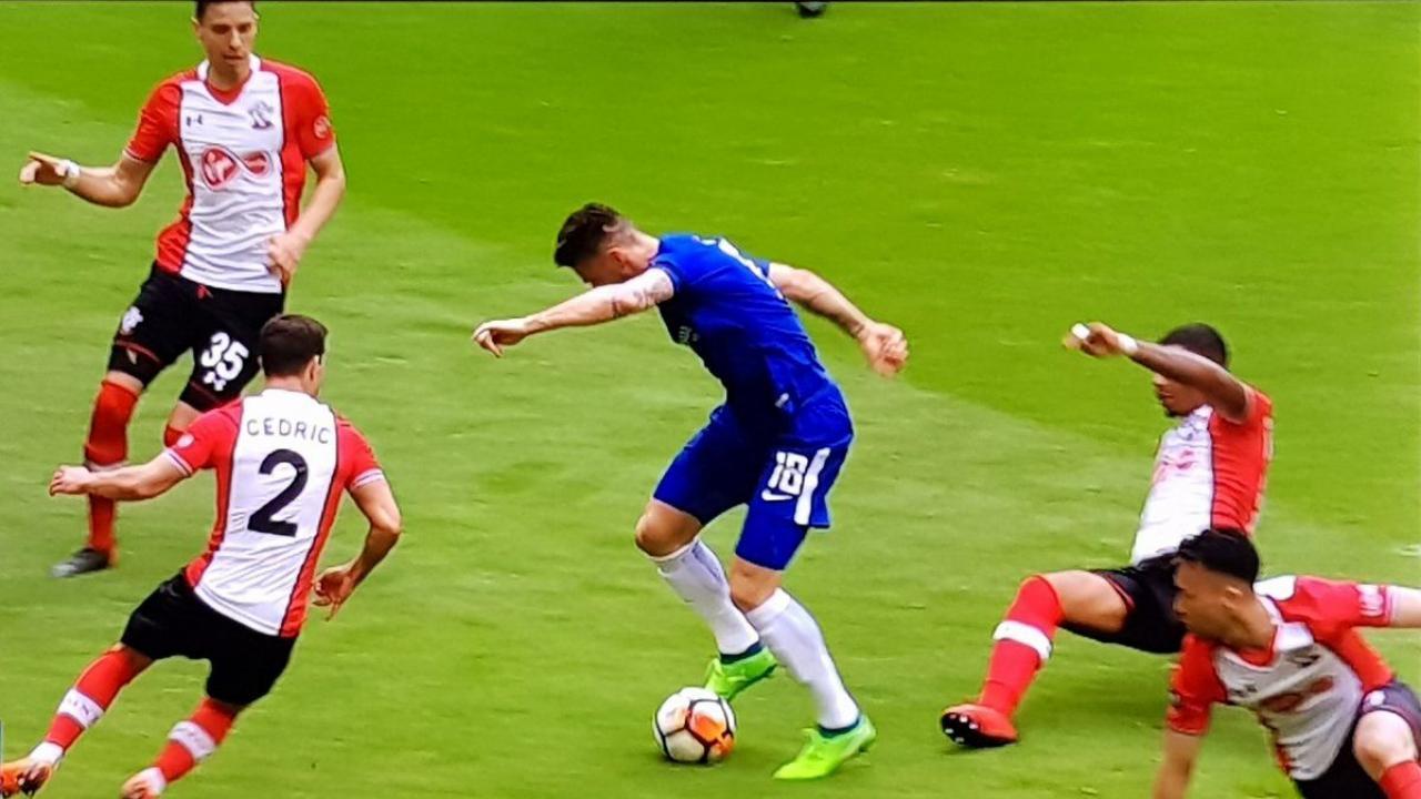 Giroud goal vs Southampton