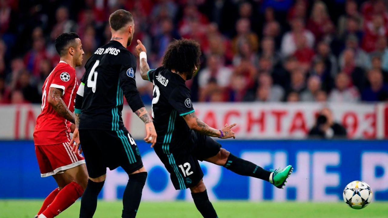 Marcelo Goal Vs Bayern Munich Champions League Semifinal 2018