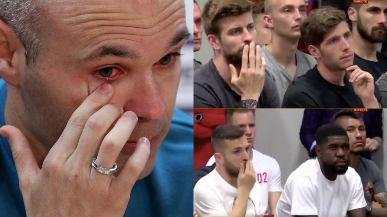 Andres Iniesta says goodbye