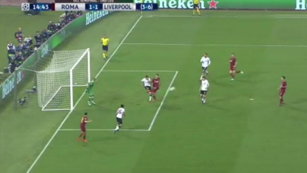 James Milner own goal vs Roma