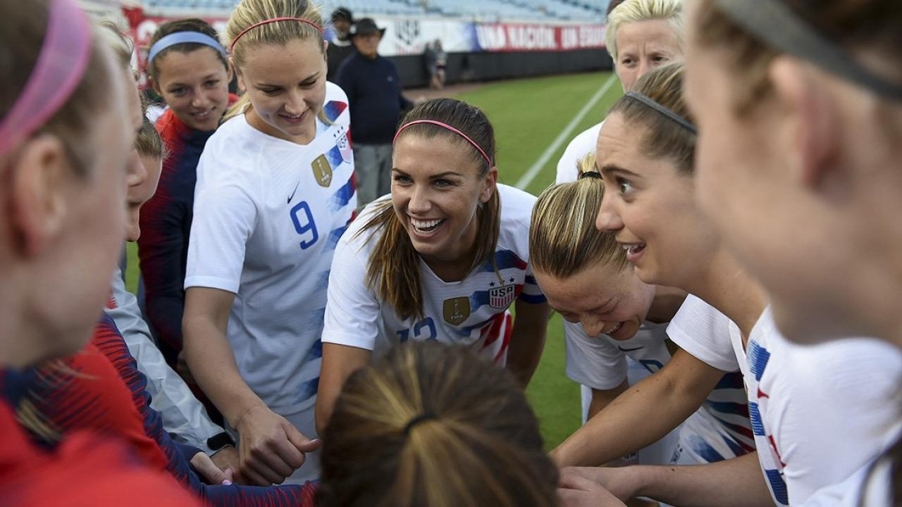 Alex Morgan USWNT Defeat Mexico 4-1