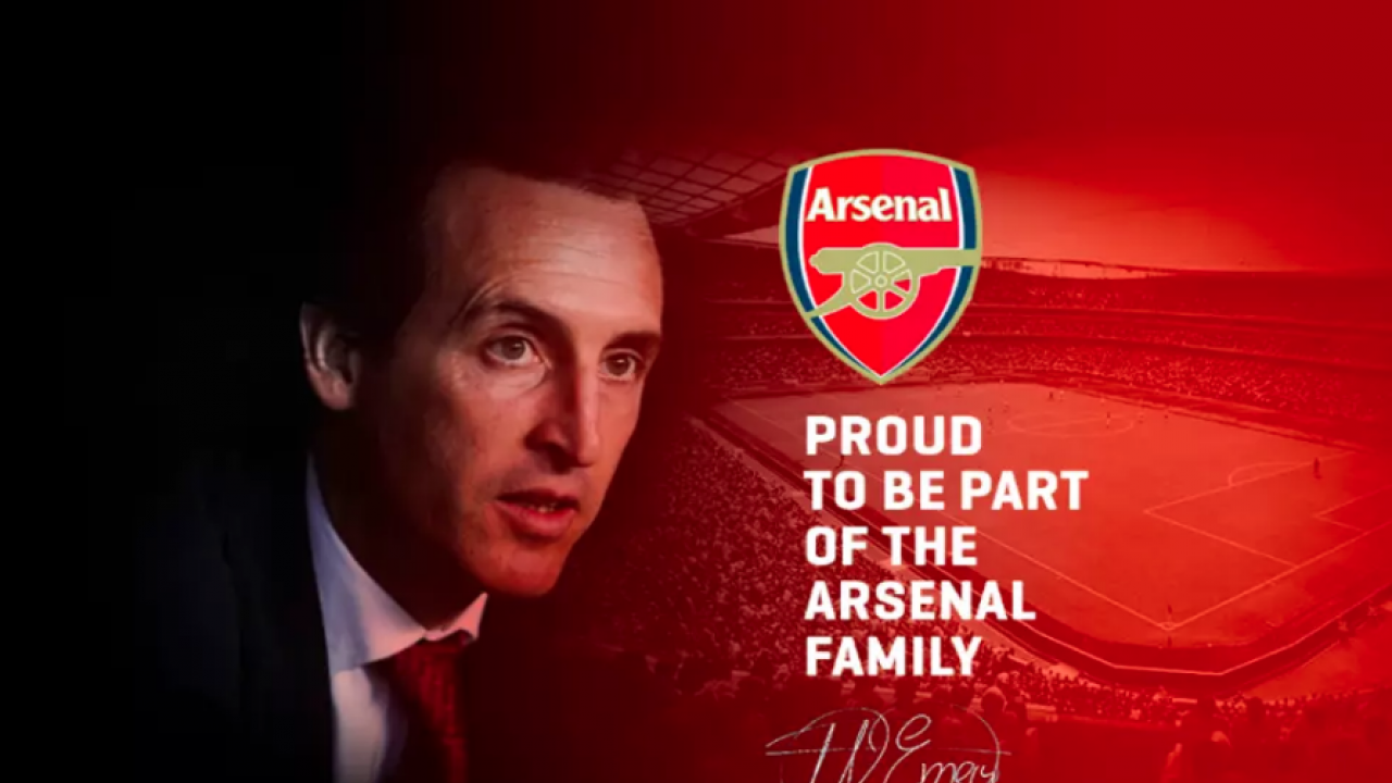 Unai Emery Announces Himself As Arsenal Manager
