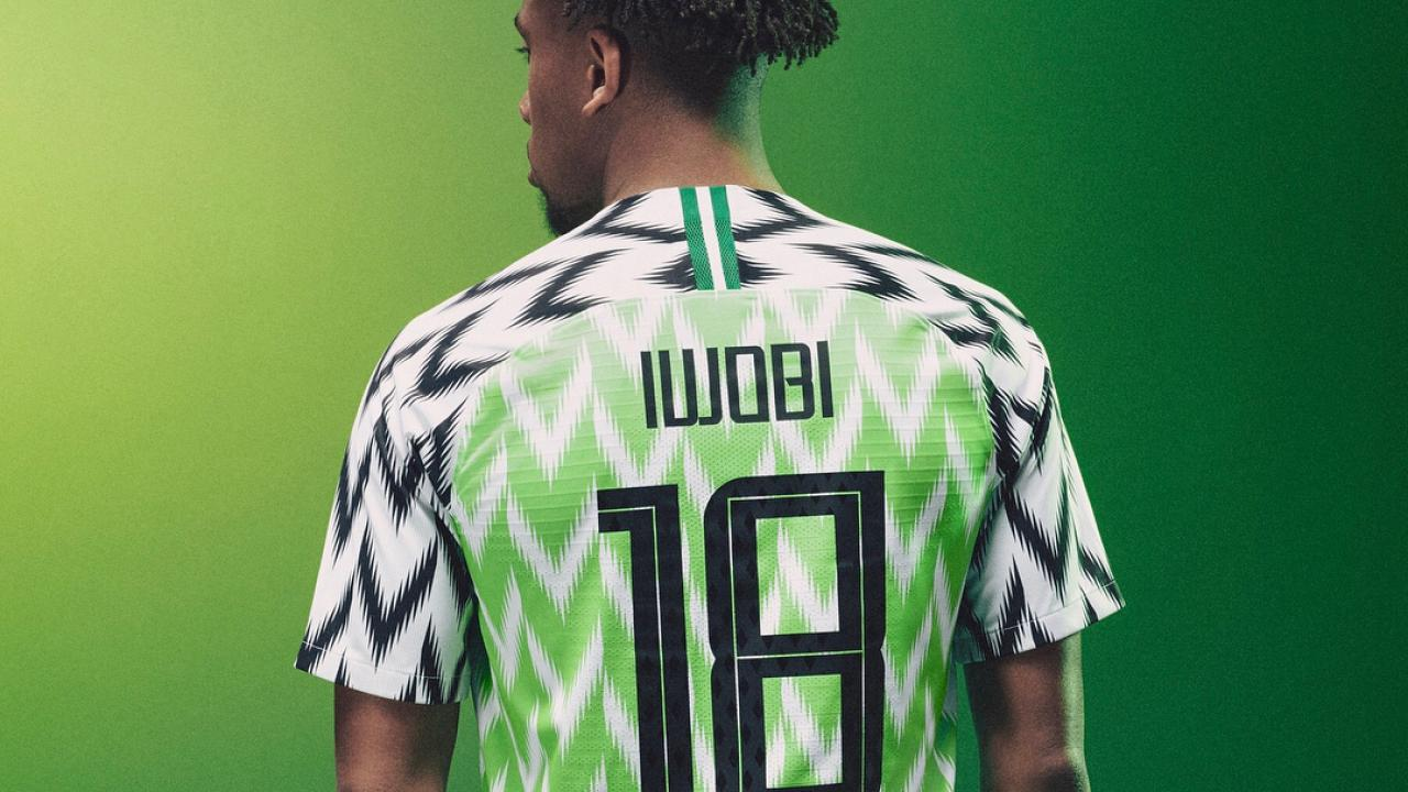nigeria world cup kit sells out in a flash