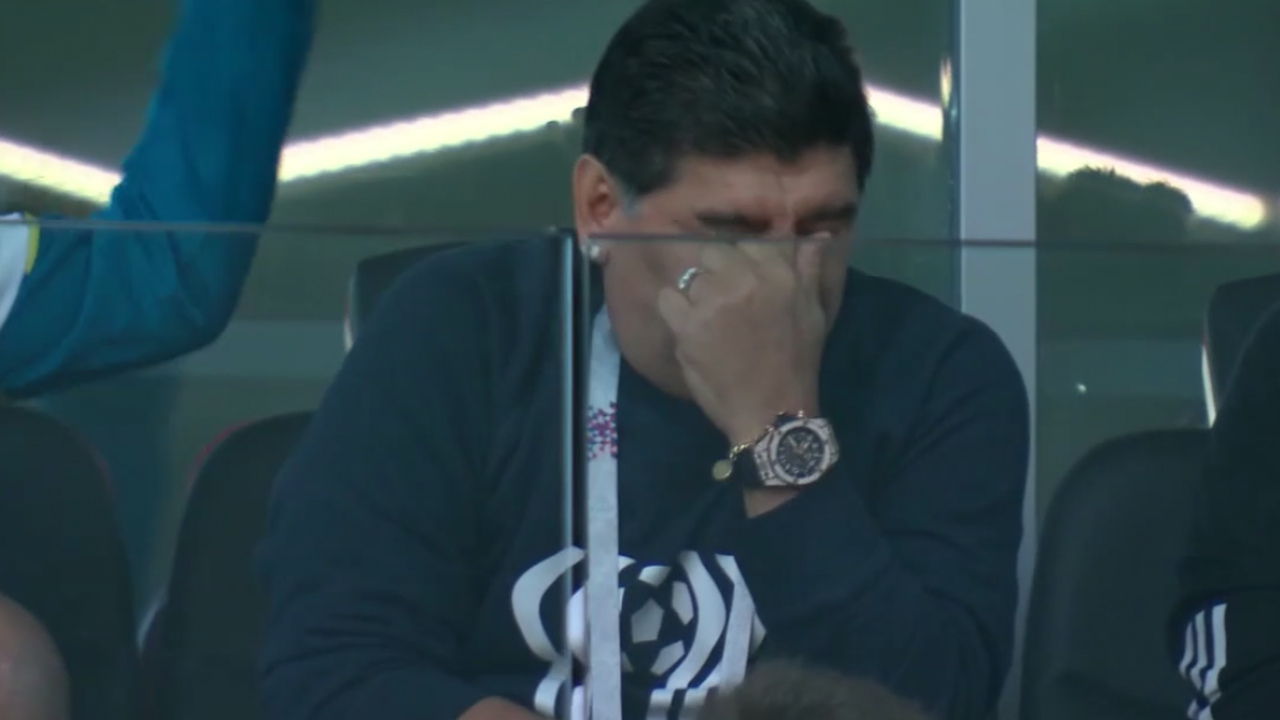 Diego Maradona 2018 World Cup