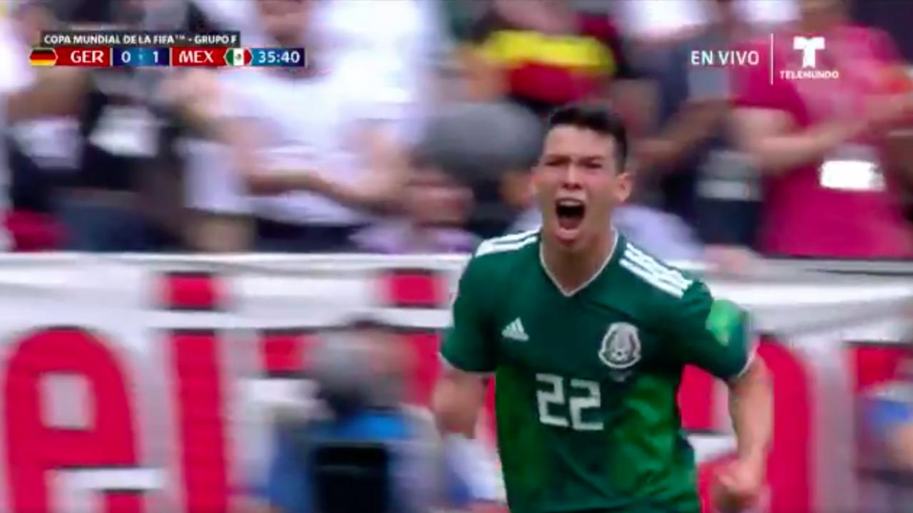 Hirving Lozano goal vs Germany