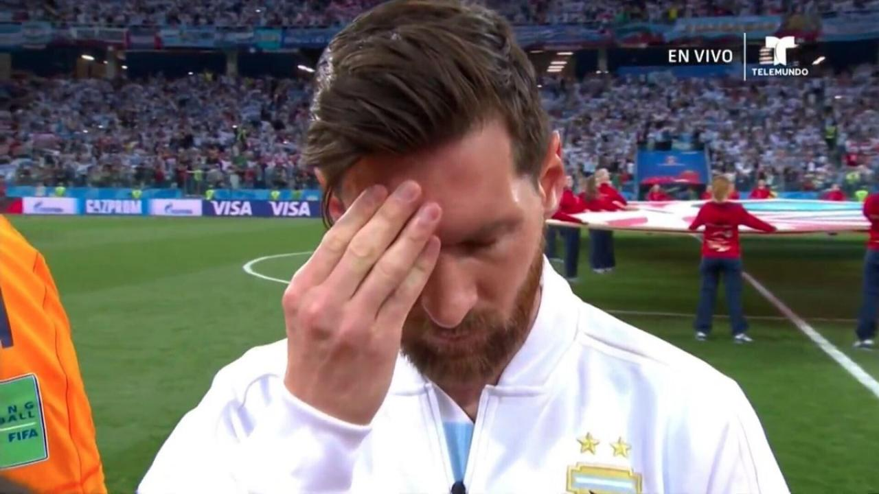Lionel Messi Vs Croatia