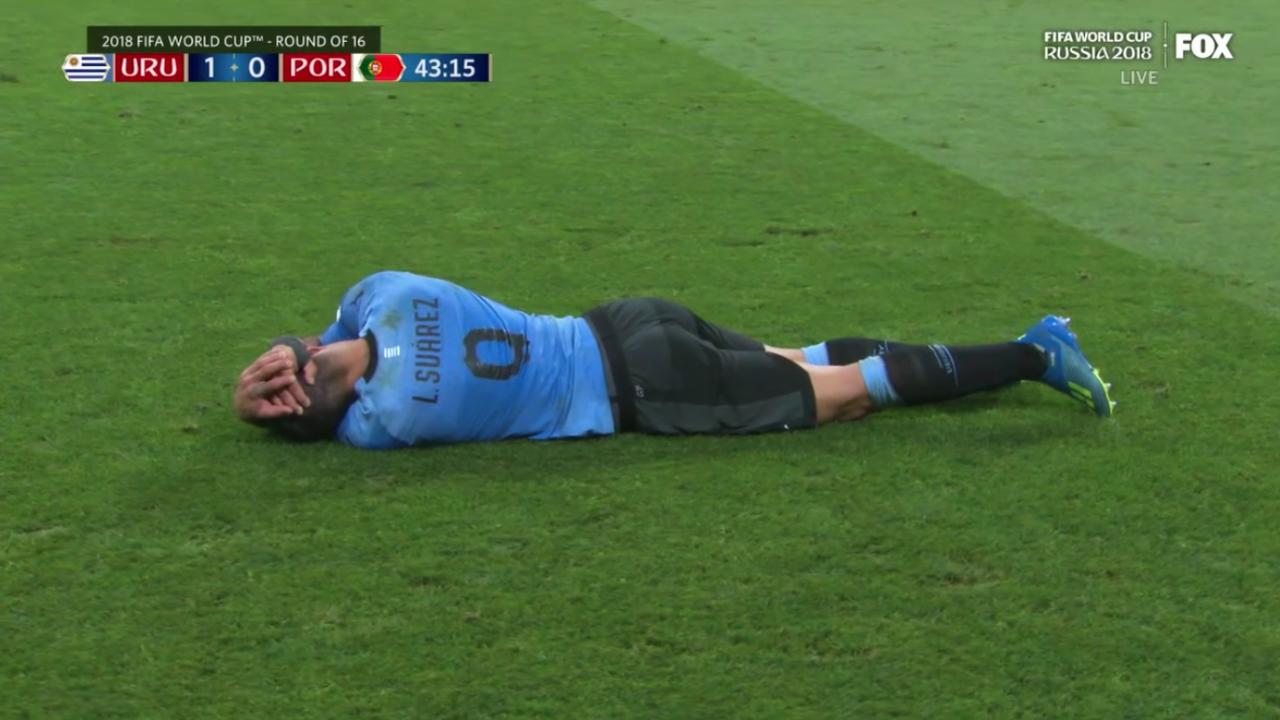 Luis Suarez vs Portugal