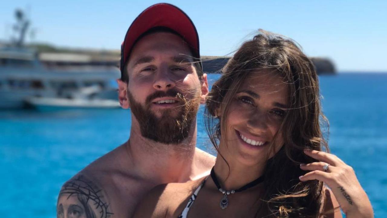 Lionel Messi Wife Antonella Roccuzzo