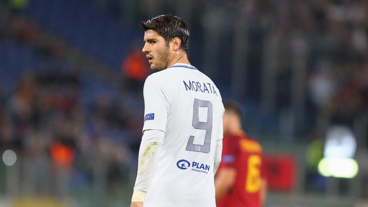 Alvaro Morata Shirt Number