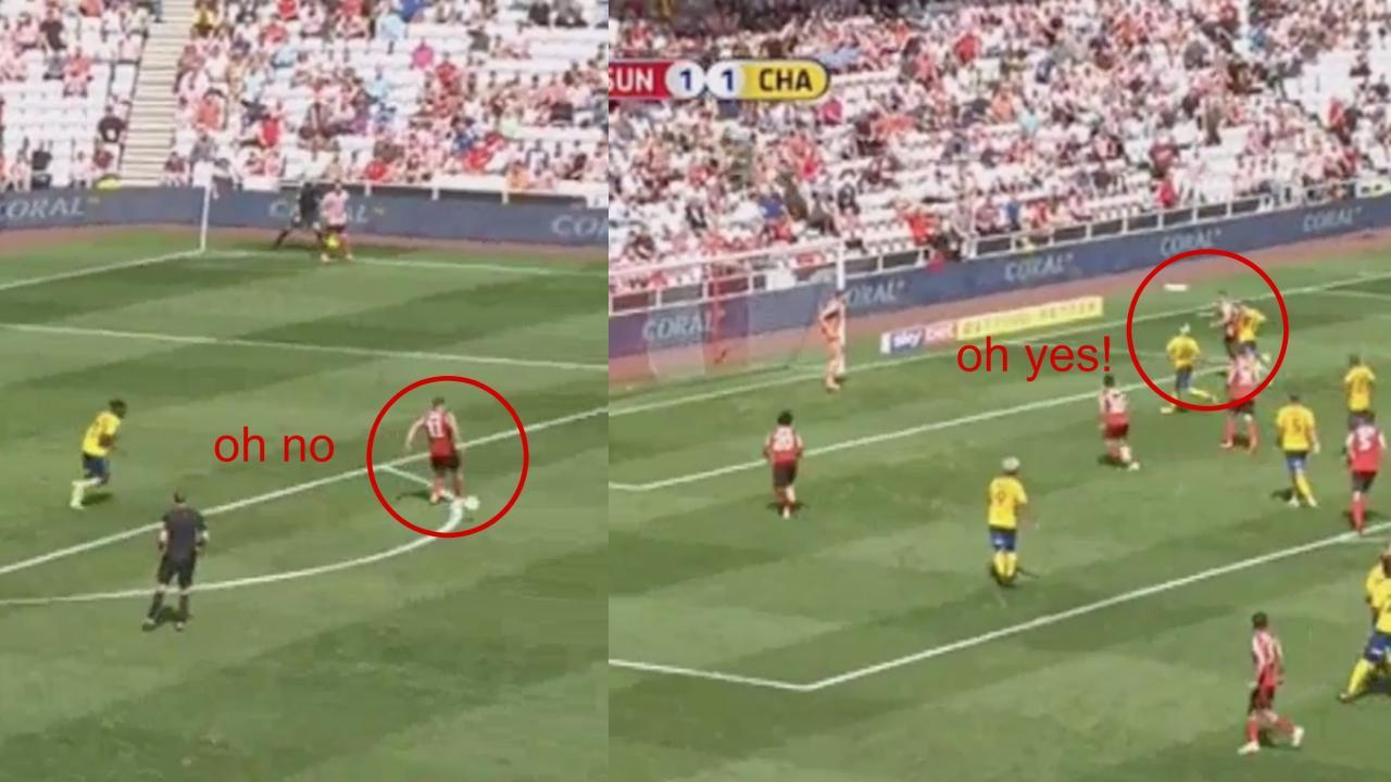 Lynden Gooch Goal Vs Charlton