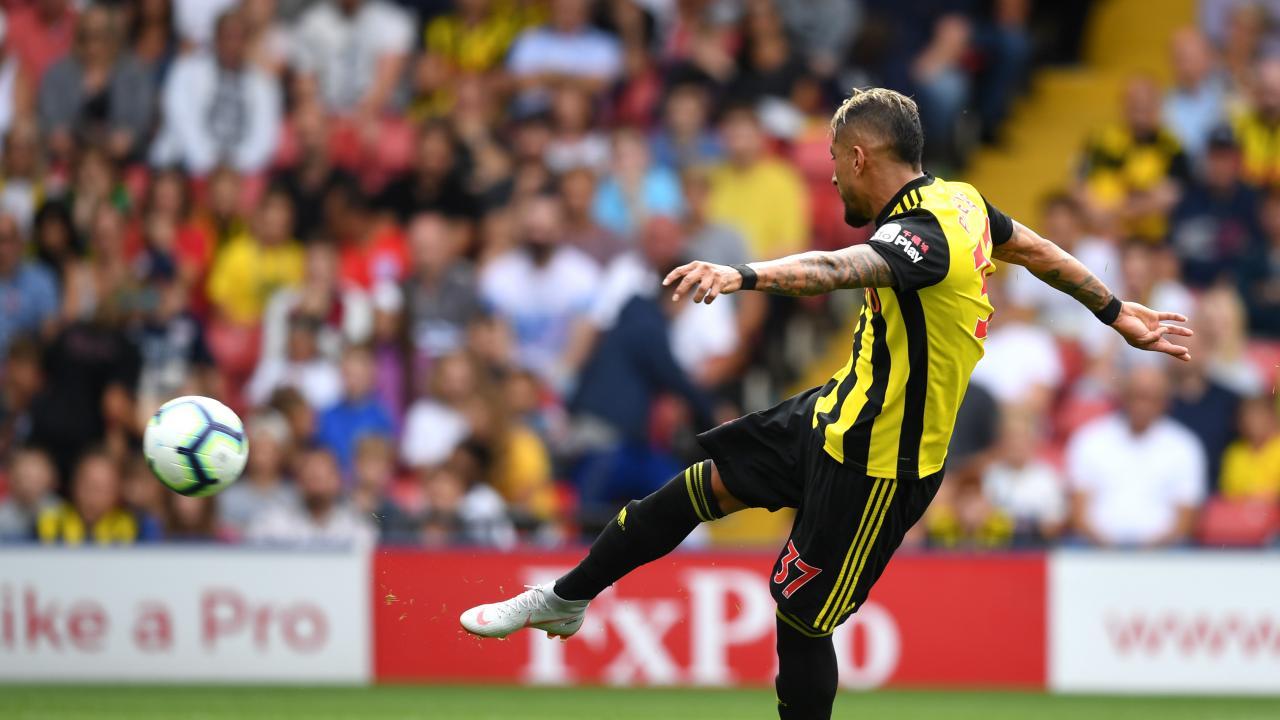 Roberto Pereyra Goal Vs Brighton