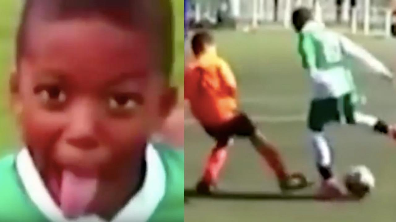Kylian Mbappe youth highlights