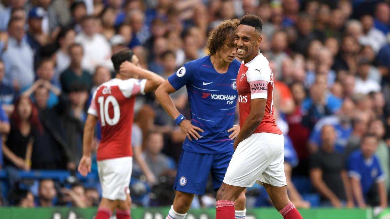 Aubameyang Miss vs Chelsea