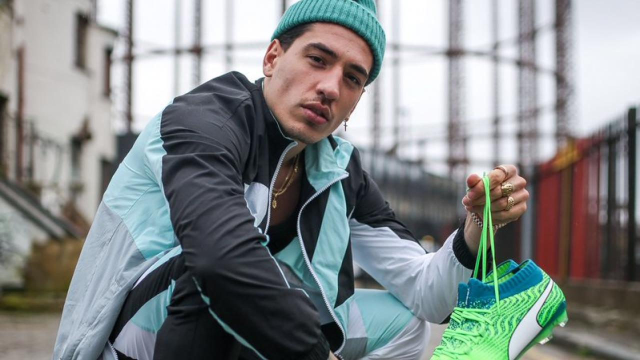 Hector Bellerin Fashion