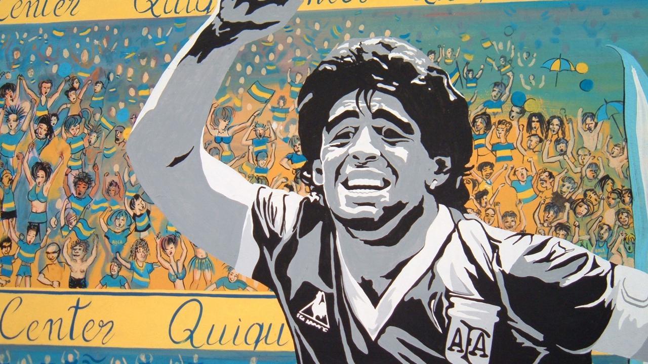 Maradona vs Pele