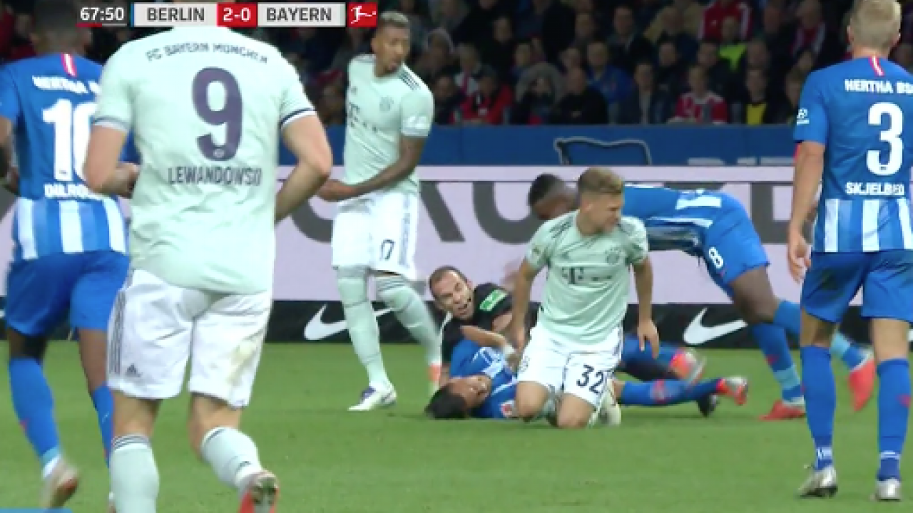 Hertha Berlin vs Bayern Munich Highlights