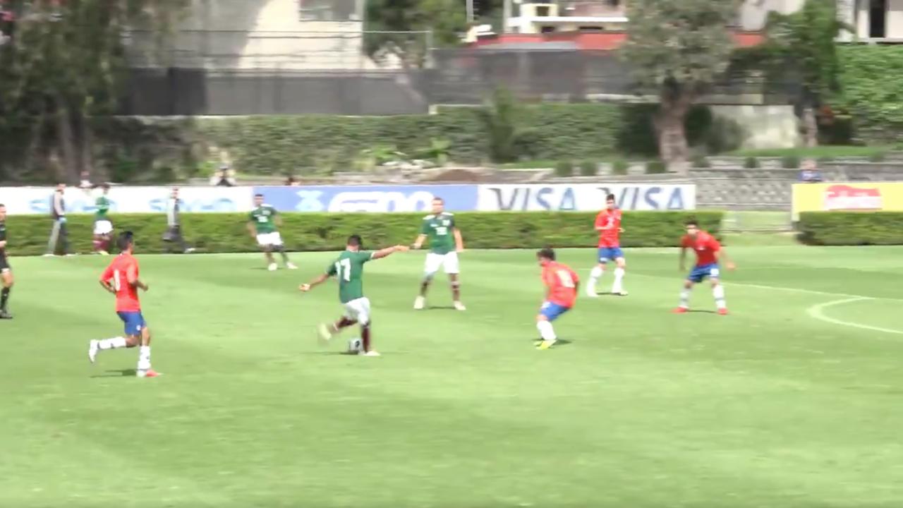 Efrain Alvarez Goal vs Chile