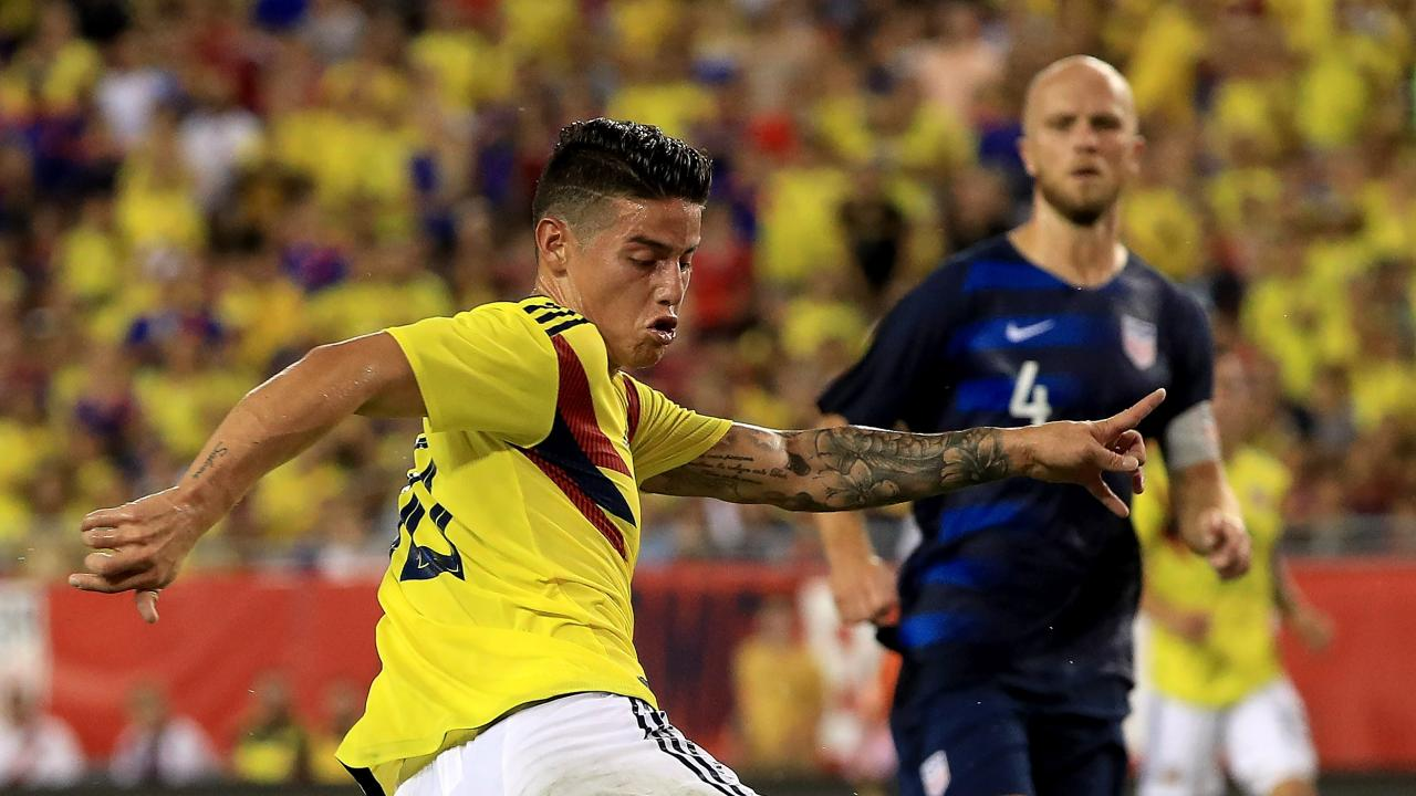 USMNT vs Colombia Highlights