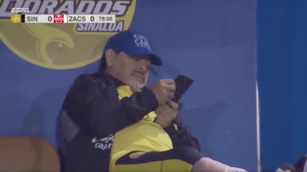Diego Maradona Phone