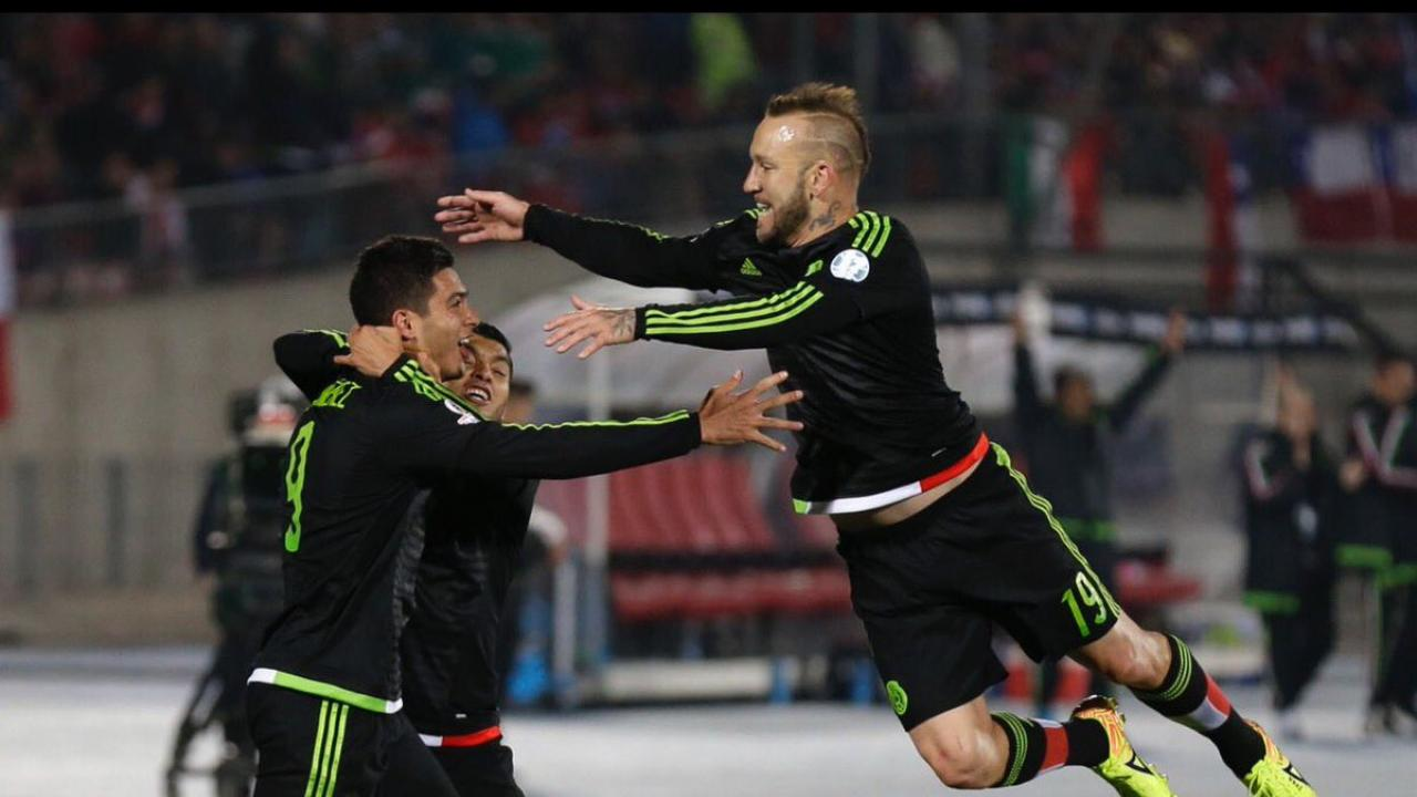 Mexico Gold Cup jersey