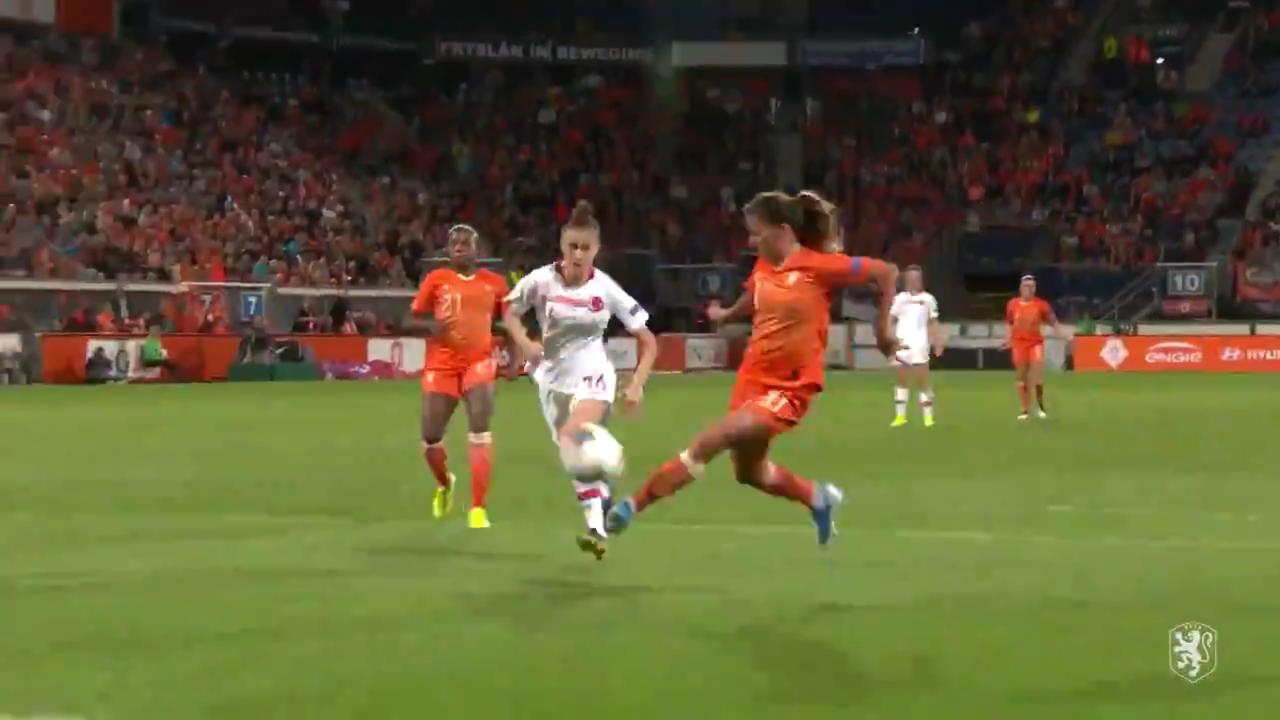 Danielle Van de Donk Goal vs Turkey