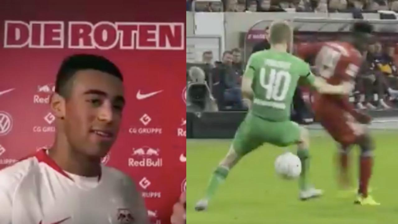 Tyler Adams RB Leipzig Debut
