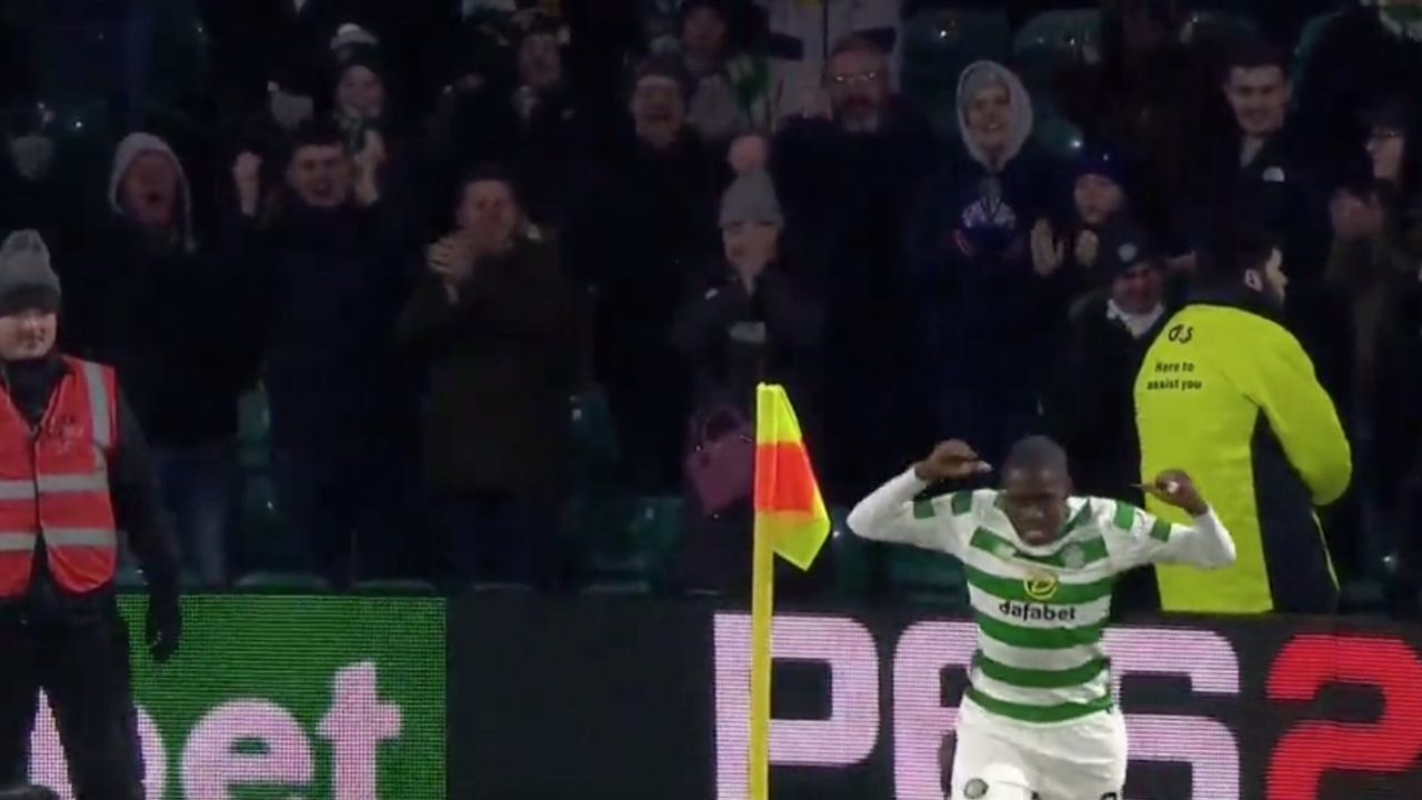 Tim Weah Celtic Goal