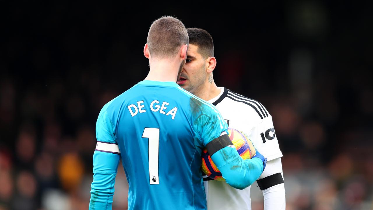 David de Gea vs Mitrovic