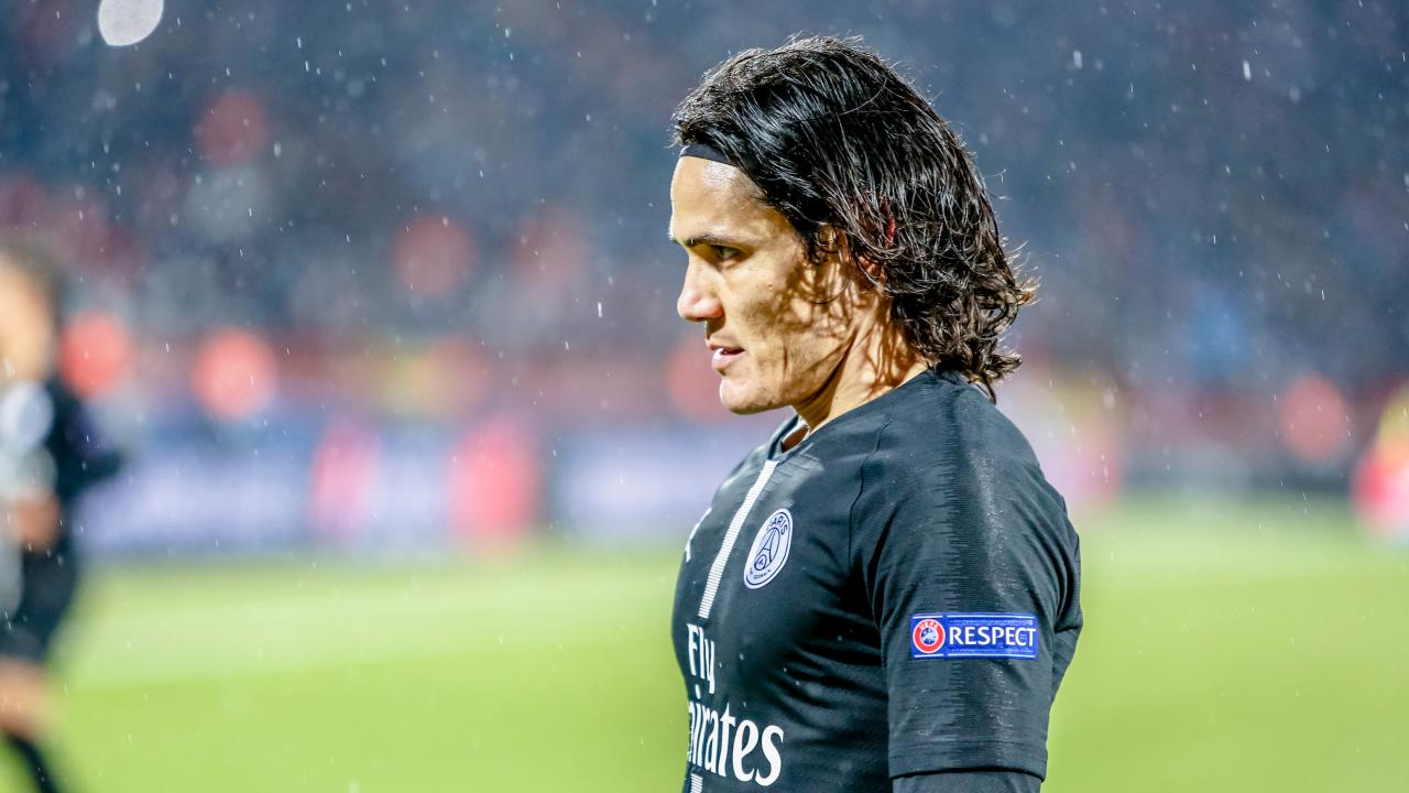 Edinson Cavani Injury