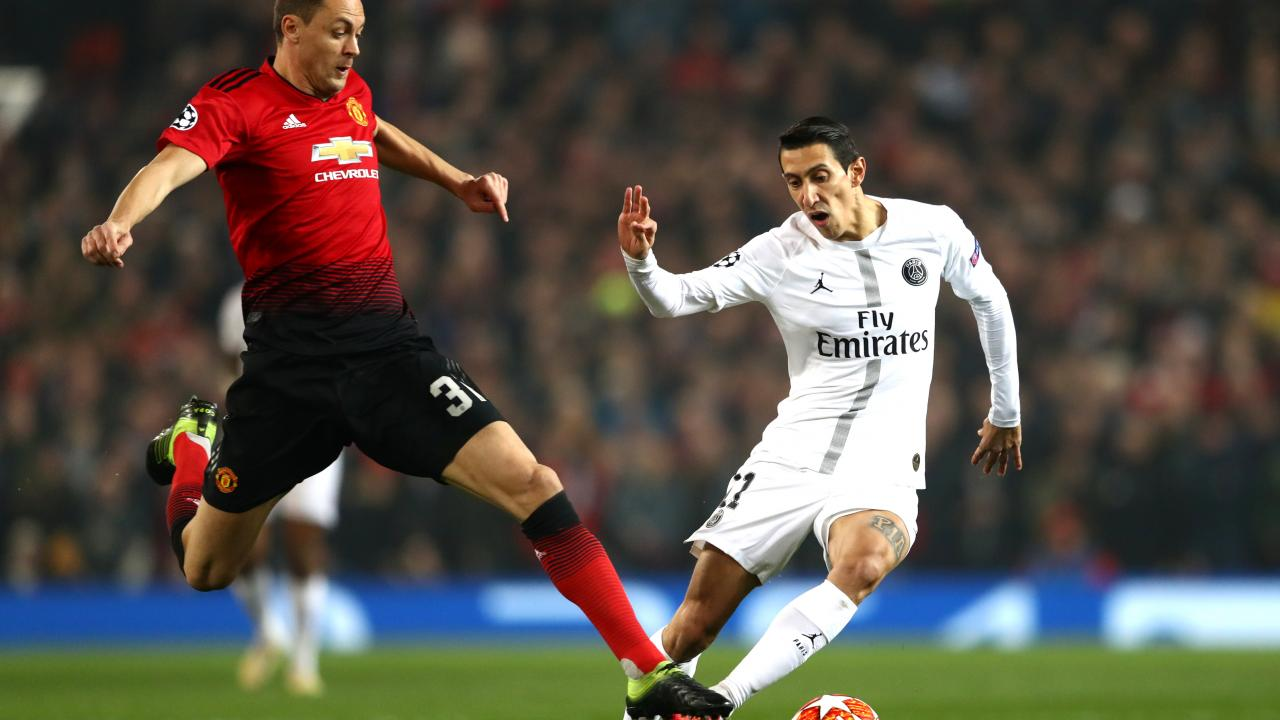 Ashley Young Challenge On Di Maria