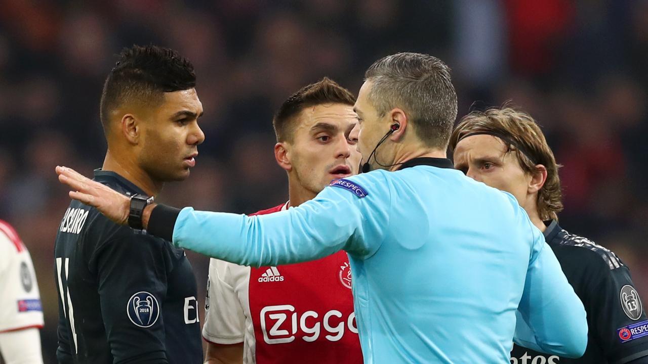 Ajax Disallowed Goal vs Real Madrid