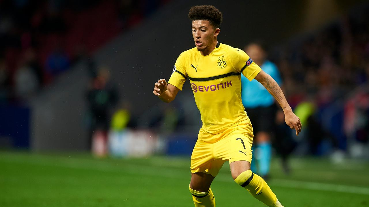 Jadon Sancho Forgets Passport