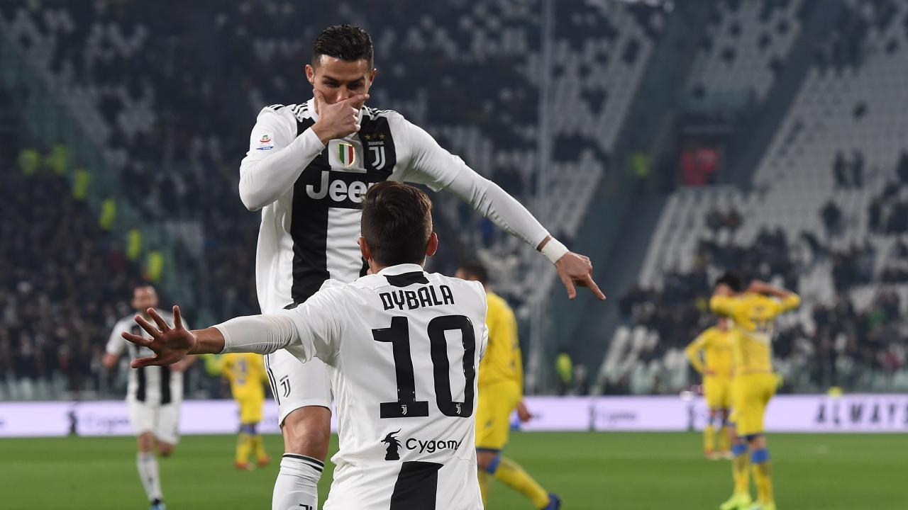 Paulo Dybala goal vs Frosinone