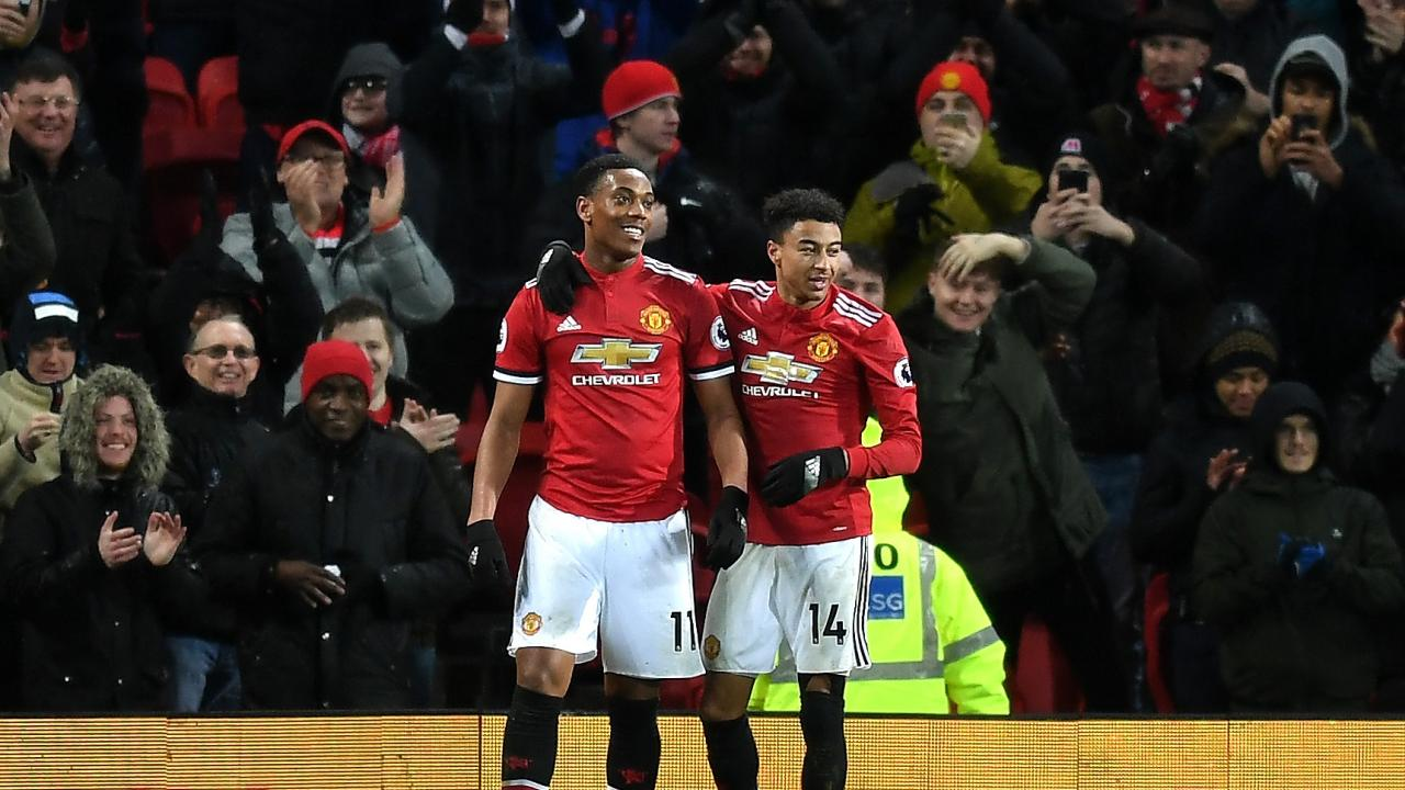 Lingard and Martial