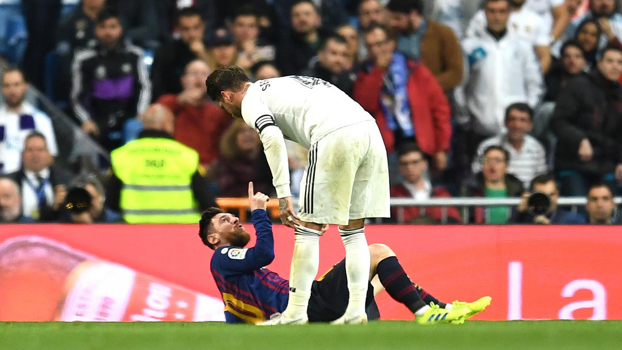 Lionel Messi vs Sergio Ramos
