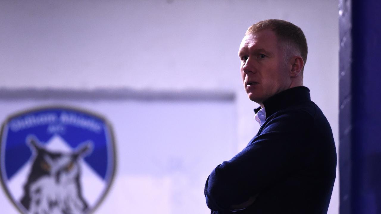 Paul Scholes Coaching