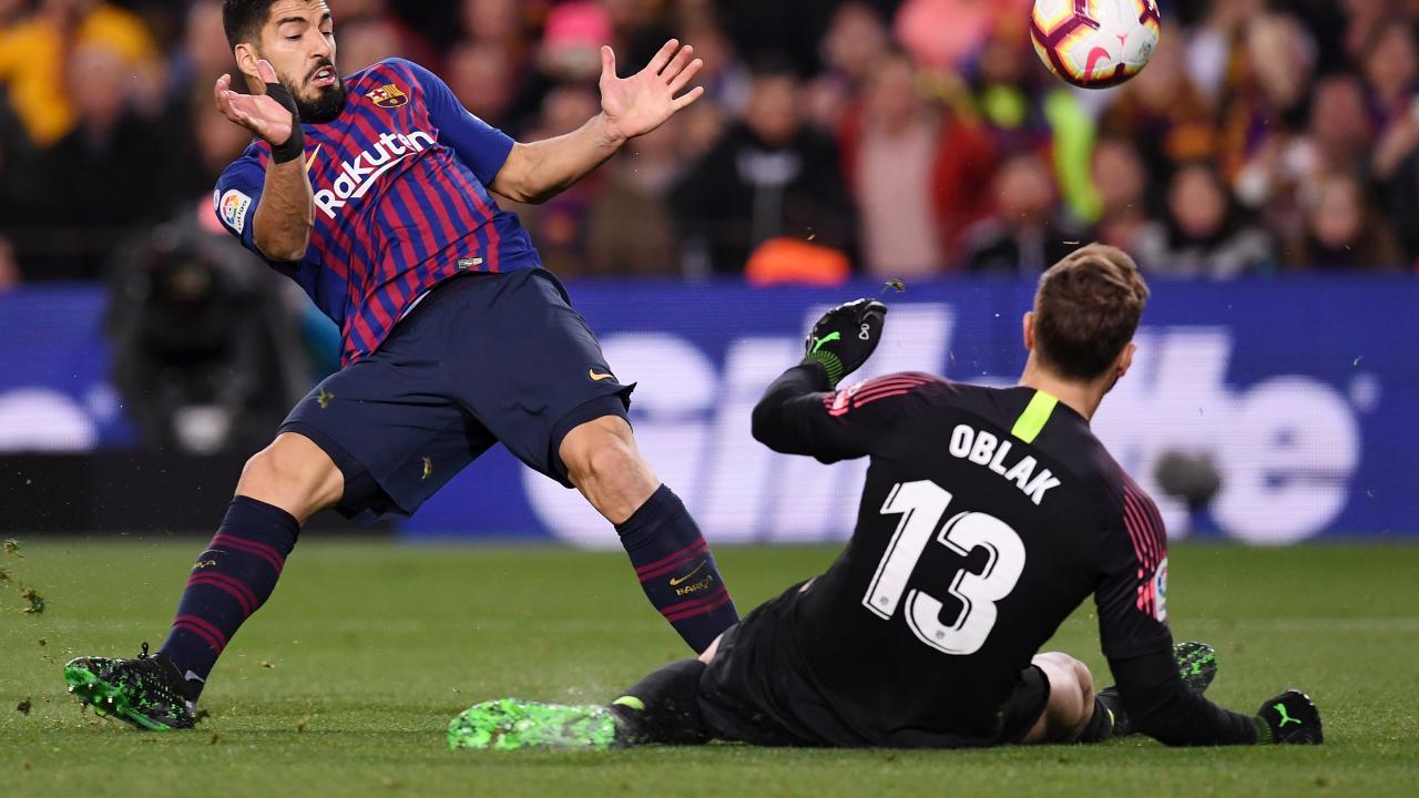 Jan Oblak vs Barcelona Highlights